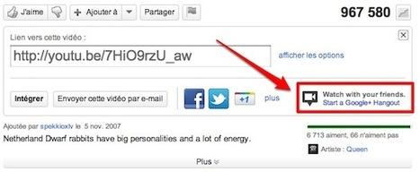 A savoir : Google+ - démarrez une bulle (Hangout) depuis une vidéo sur YouTube | Descary.com | Méli-mélo de Melodie68 | Scoop.it