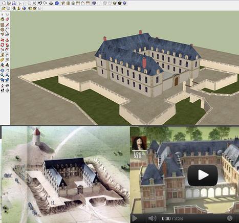 Château de Versailles : du document historique à l'imagerie virtuelle | FRENCH and much more... | Scoop.it