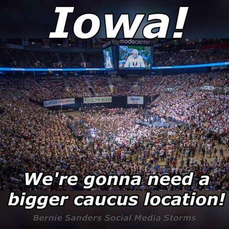 #Bernie #Sanders is Phenomenon #Iowa | USA the second nazi empire | Scoop.it