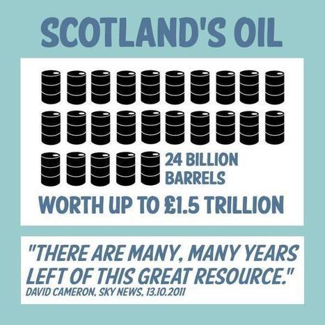 Twitter / MrFurby: Oil will bring big economic ... | SayYes2Scotland | Scoop.it