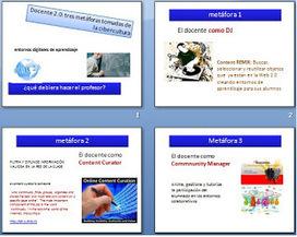 TIC´S EN UN CLIC: Funciones del docente 2.0: curador y algo más | El maestro como curador de contenidos digitales | Scoop.it