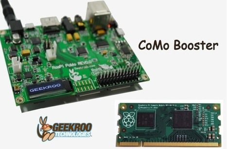 CoMo Booster For Raspberry Pi Compute Module (video) | Raspberry Pi | Scoop.it
