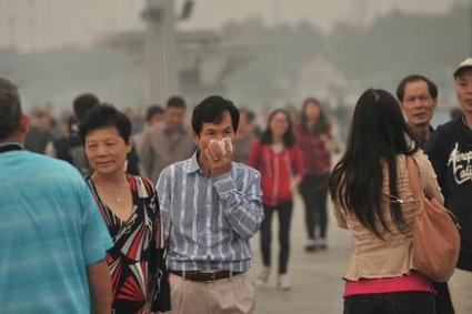 Days of heavy air pollution blight northern China   sustainability and resilience   Scoop.it