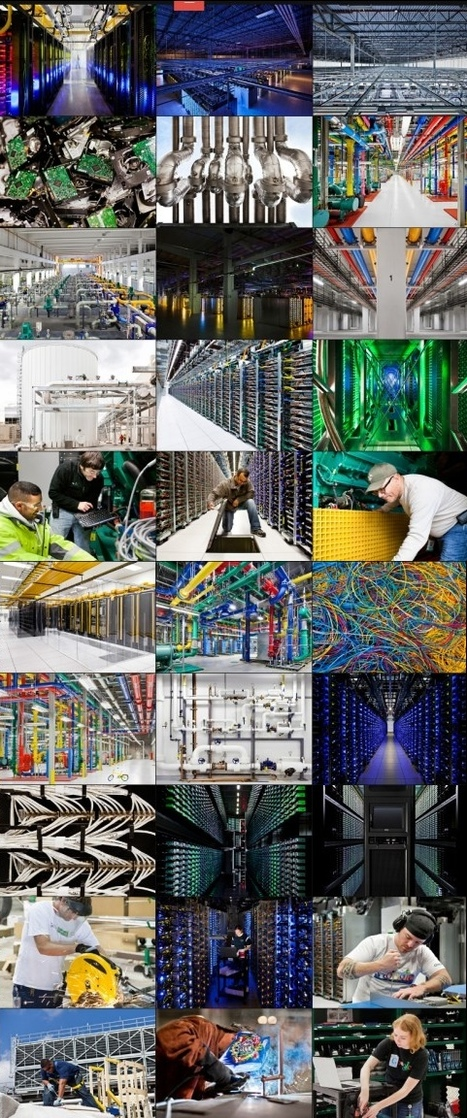 Internet power: Google gives a rare glimpse into the vast data centers around the globe that power its services | Amazing Science | Scoop.it