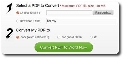 Wondershare vous propose de convertir en ligne un fichier pdf en word | WEB 2.0 etc ... | Scoop.it