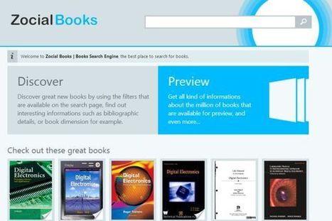 Zocial Books – sencillo buscador de libros | Aprendiendo a Distancia | Scoop.it