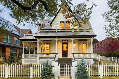 Historic Victorian with a Sprightly Renovation Asks $8.5M - On the ... | historical homes | Scoop.it