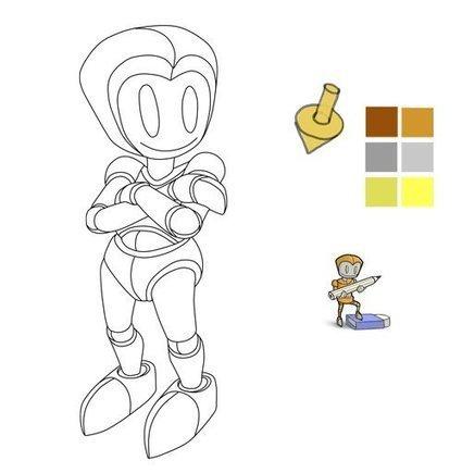 Apprendre a dessiner - Coloriste - | Apprendre a dessiner | Scoop.it