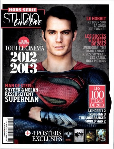 New Portrait Of Man Of Steel's Superman On Magazine Cover | Comic Books | Scoop.it