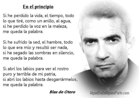 Centenario Blas de Otero: poeta social y comprometido | Cosas que interesan...a cualquier edad. | Scoop.it
