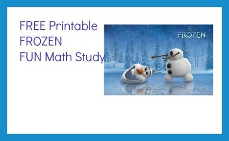 FREE Frozen Math Unit Study   Education Articles and Resources   Scoop.it
