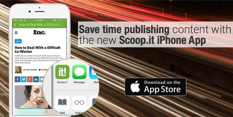 Mobile content curation: save (even more) time publishing | Content Curation Resources | Scoop.it
