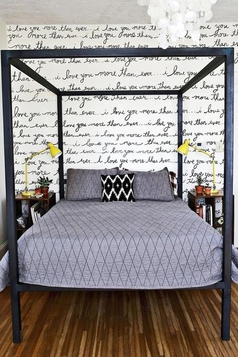 Bedroom Accent Walls to Keep Boredom Away | Designing Interiors | Scoop.it