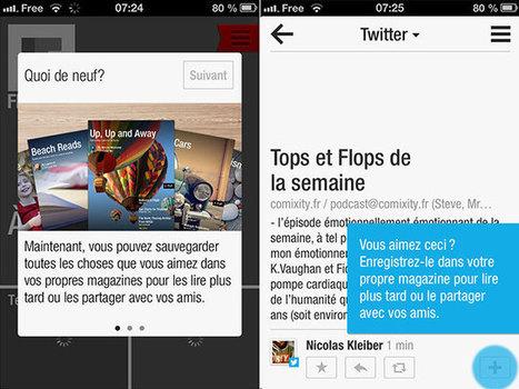 Flipboard passe la seconde et se met aux magazines personnalisés | ImNerdy | Scoop.it