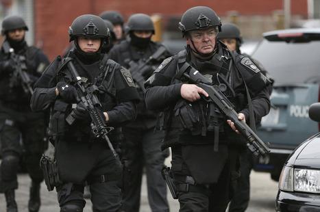 Manhunt Underway, Boston Under Lockdown | Best of Photojournalism | Scoop.it