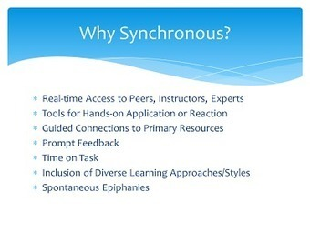 Confer with Blaine: Best Practices for Synchronous Online Instruction: An Update | CCC Confer | Scoop.it