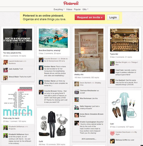 How to Use Pinterest in Your Online Marketing Initiative | social media marketing | Scoop.it