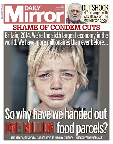 Daily Mirror's 'crying girl' picture lands the paper in an ethical row | Multimedia Journalism | Scoop.it