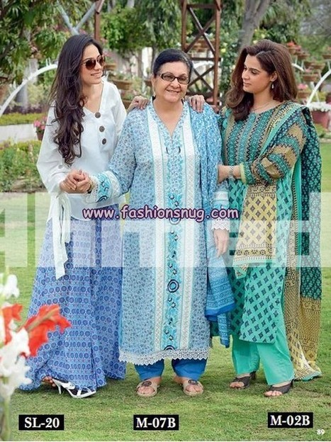 Gul Ahmed Summer Collection 2013 For Mother's Day | Fashion Blog | Scoop.it