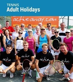 Group Tennis Holidays - Active Away | Tennis and Ski Holidays | Scoop.it