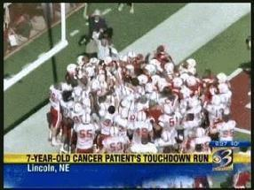 Trending: Boy with cancer runs touchdown - WWMT-TV | Middays with Becky in DC | Scoop.it