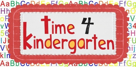Time 4 Kindergarten: Guest Blogger--Sharing Kindergarten | english for little kids | Scoop.it