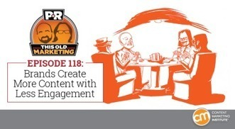 This Week in Content Marketing: Brands Create More Content with Less Engagement   Curating ... What for ?! Marketing de contenu et communication inspirée   Scoop.it