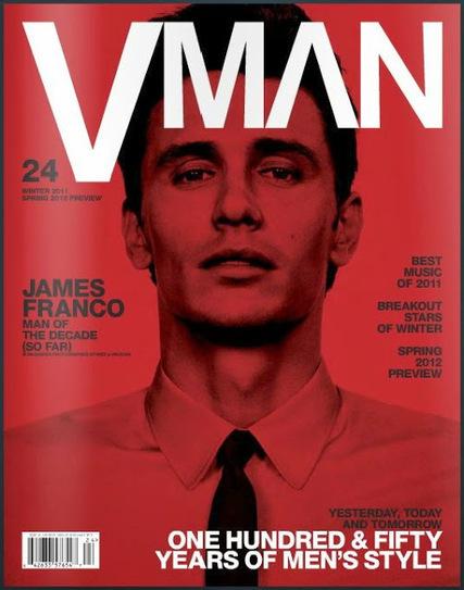 James Franco: per VMAN è l'uomo del decennio!   JIMIPARADISE!   Scoop.it