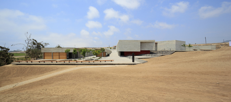 Museo de Pachacamac por Llosa Cortegana Arquitectos. Finalista de los MCHAP 2014/2015 | METALOCUS | The Architecture of the City | Scoop.it