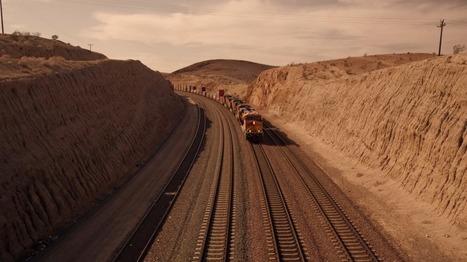 Doug Aitken, ceux qui l'aiment prendront le train   Art contemporain et histoire de l'art   Scoop.it
