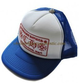 Chrome Hearts White Blue CH Logo Embroidered Trucker Cap [CH Logo Embroidered Cap] - $99.00 : Authentic Eyewear,Clothing,Accessories By Chrome Hearts! | my trend | Scoop.it