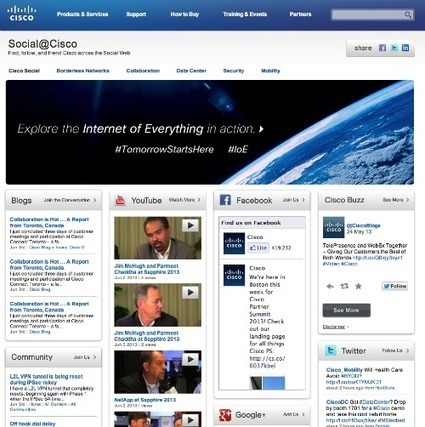 Social Media Hubs for Brands – Best Practices & 9 Examples   Curation   Scoop.it