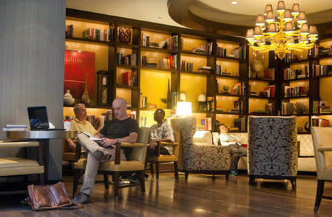 Scripta Πτερόεντα: Hotels Add Libraries as Amenity to Keep Guests Inside | Information Science | Scoop.it