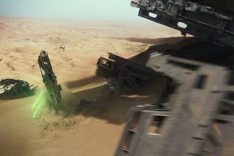 Um Dia fui ao Cinema: Nos bastidores dos efeitos especiais de Star Wars: The Force Awakens   Books, Photo, Video and Film   Scoop.it