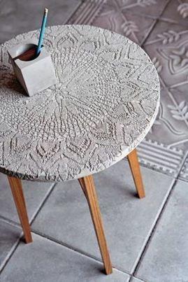 Déco en béton DIY • Bao créatif | Récup Création | Scoop.it