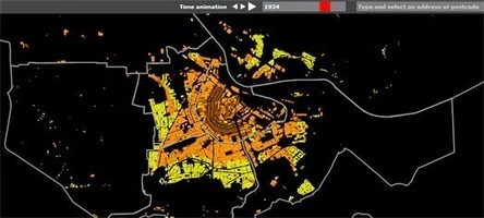 Maps Mania: Mapping a City's Growth | Urbanisme | Scoop.it