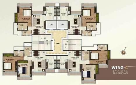 Ashok Smruti 1-2-3 bhk apartments on Ghod Bunder Road Thane | Regrob Real Estate | Scoop.it