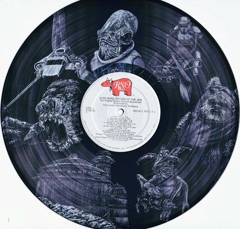 Amazing Star Wars Art Records: The Empire Got its Grooves Back | informática y tecnología | Scoop.it