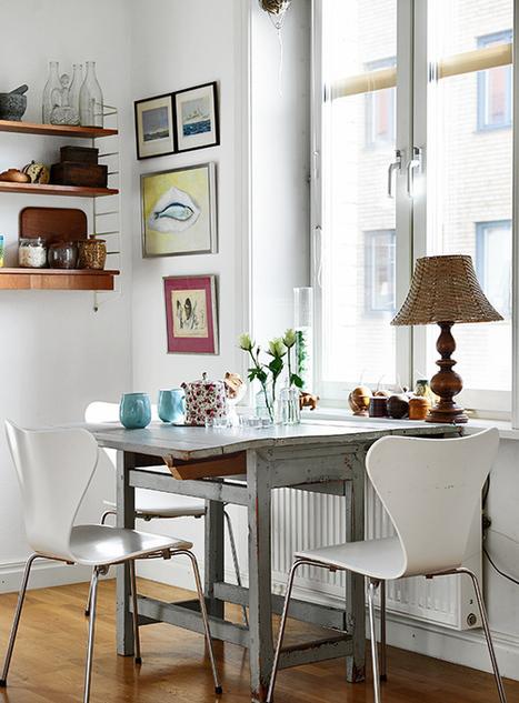 Un deux pièces suédois très joyeux | | PLANETE DECO a homes worldPLANETE DECO a homes world | décoration | Scoop.it