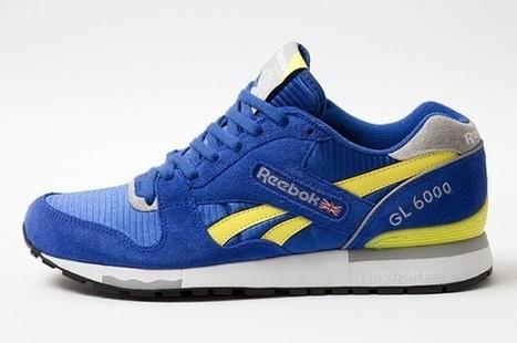 Où acheter la Reebok GL6000 Jaune/Bleu (version 2013) ? | sneakers-addicted | Scoop.it
