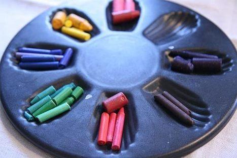 Recyclez vos bouts de crayons de cire | La cabane à idées | Mes 2 mains débutent | Scoop.it