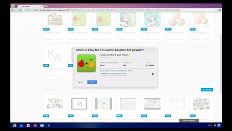Google Play for Education: You Know, For Kids | Instructional Technology & Random Awesomeness | Scoop.it