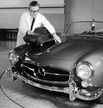 A 220SL, the Mercedes 190SL brother that never made it | Classic Mercedes | Scoop.it