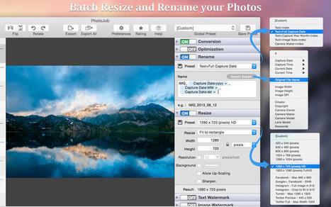 PhotoJob - un utilitaire de traitement de photos numériques pour Mac | Chroniques libelluliennes | Scoop.it