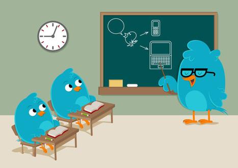 Des idées pour exploiter pédagogiquement le réseau Twitter : RECIT local CSA   tuic 1er degré   Scoop.it