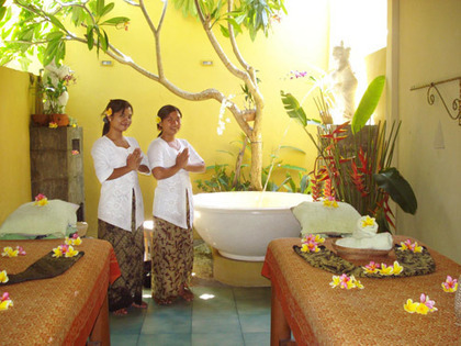Outdoor Massage | Sekar Jagat Spa | Nusa Dua, Bali | Bali Style | Scoop.it