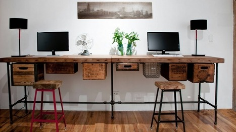 12 Ideas for Creative Desks | Ocean City MD & Coastal DE Beach Real Estate - ShoreFun4U - BeachHomes4Sale & Rent - Susan Antigone - 'Sun, Sea, Style' | Scoop.it