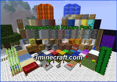 StrongestCraft Resource Pack for Minecraft 1.6.3/1.6.2 | Minecraft Resource Packs 1.7.10, 1.7.2 | Scoop.it
