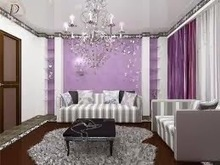 Luxurious Purple Living Room | All Kinds of Furnitures | newfurnituresdesign.comm | Scoop.it