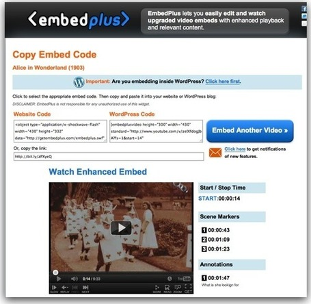 EmbedPlus - Enhance YouTube Videos for Learning | Into the Driver's Seat | Scoop.it